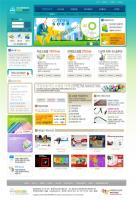 Web site material monopoly business templates
