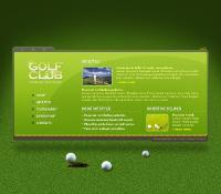 Green Golf template