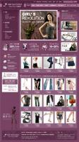 Apparel clothing template page 01