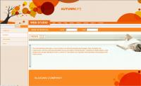 Web animation, web-related information template psd, html